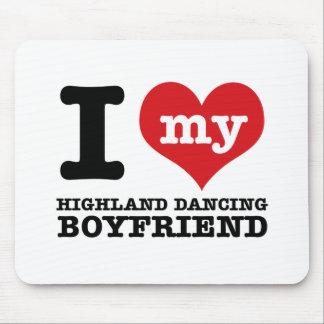 Scottish Highland dancing designs Mouse Pad