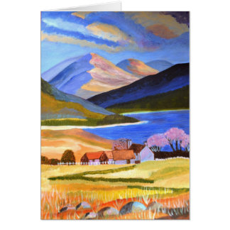 Scottish Highlands 2 Card