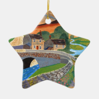 Scottish Highlands Christmas Ornament
