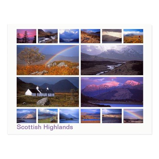 Scottish Highlands multi-image Postcard