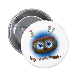 Scottish 'Hoots Toots Haggis' Badges
