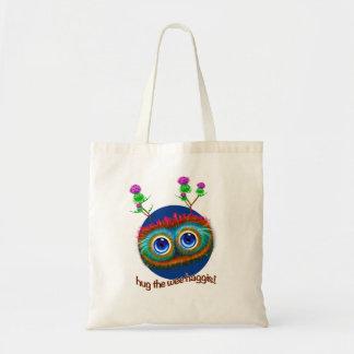 Scottish 'Hoots Toots Haggis' Budget Tote Bag