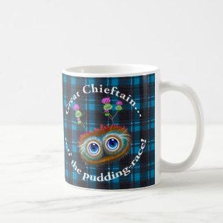 Scottish Hoots Toots Haggis. Chieftain. Coffee Mug