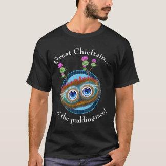 Scottish Hoots Toots Haggis. Great Chieftain. T-Shirt