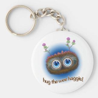 Scottish 'Hoots Toots Haggis' Key Ring