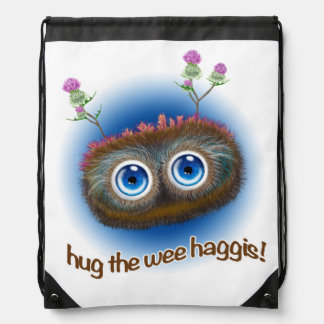 Scottish 'Hoots Toots Haggis' Rucksacks