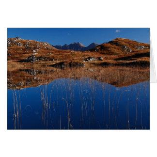 Scottish Hues and Blues Card