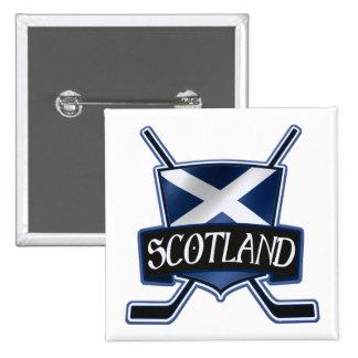 Scottish Ice Hockey Flag Logo Badge