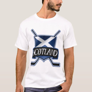 Scottish Ice Hockey Flag Logo T-Shirt