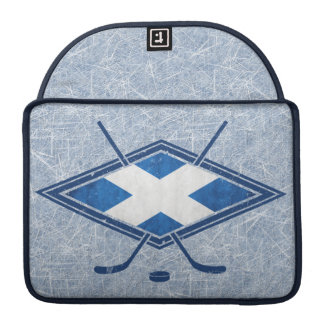 Scottish Ice Hockey Flag Macbook Case Sleeve For MacBooks