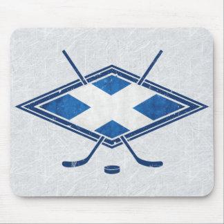Scottish Ice Hockey Flag Mousemat