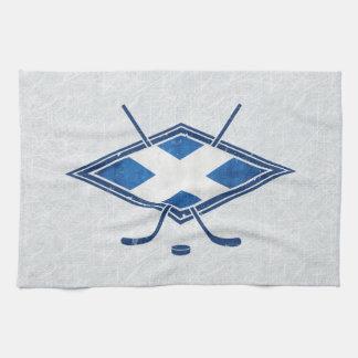 Scottish Ice Hockey Flag Tea Towel