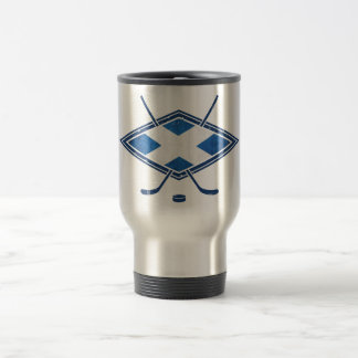 Scottish Ice Hockey Flag Travel Mug