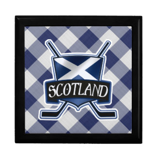 Scottish Ice Hockey Gift Box, Flag Logo Gift Box