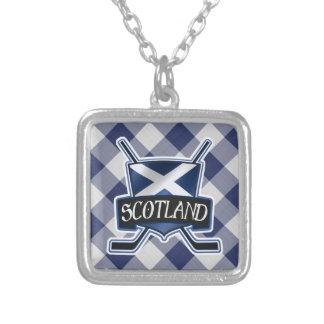 Scottish Ice Hockey Necklace