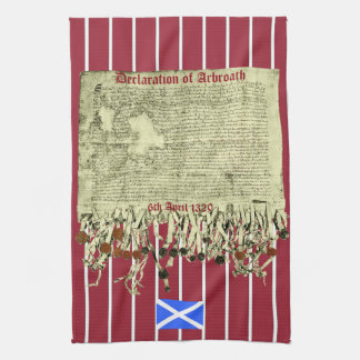 Scottish Independence Arbroath Declaration T Towel