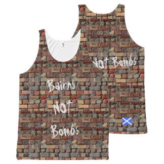 Scottish Independence Bairns Not Bombs Vest