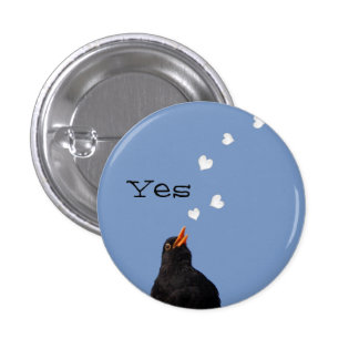 Scottish Independence Blackbird Song Button