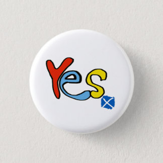 Scottish Independence Bright Yes Badge
