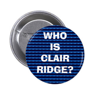 Scottish Independence Clair Ridge Oil Field Badge Pinback Buttons