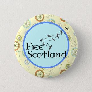 Scottish Independence Dandelion Badge