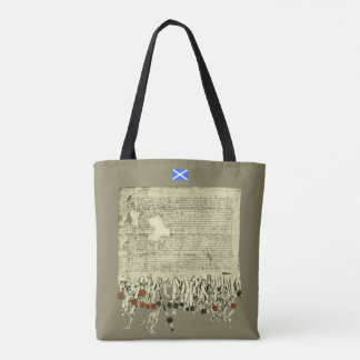 Scottish Independence Declaration of Arbroath Tote Bag