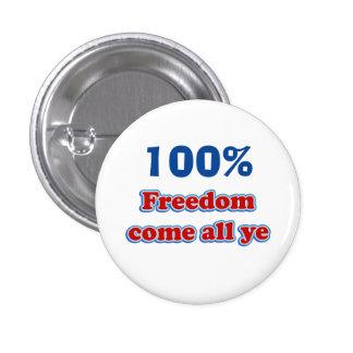 Scottish Independence Freedom Badge