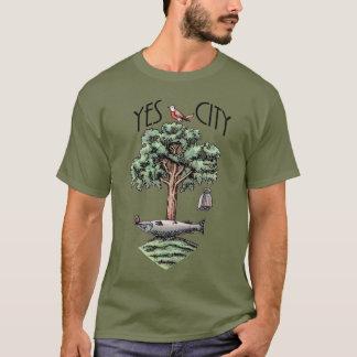 Scottish Independence Glasgow Yes City T-Shirt