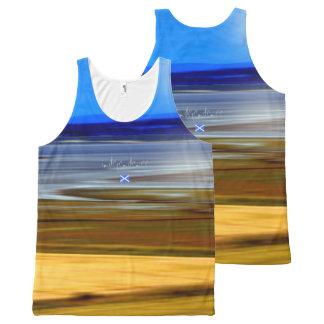 Scottish Independence Highland Landscape Art Vest