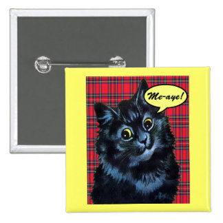 Scottish Independence Indy Cat Button