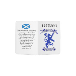 Scottish Independence Lion Declaration of Arbroath Passport Holder