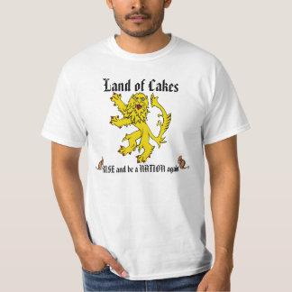 Scottish Independence Lion Rampant Mouse Tee
