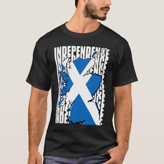 Scottish Independence Map T-Shirt
