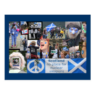 Scottish Independence March Postcard