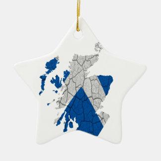 Scottish Independence Merchandise Ceramic Star Decoration