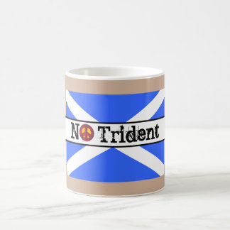 Scottish Independence No Trident Scotland Flag Mug