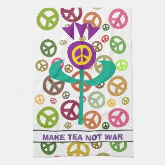Scottish Independence No War Tea Towel