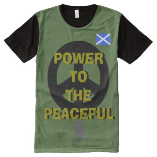 Scottish Independence Peace T-Shirt All-Over Print T-Shirt