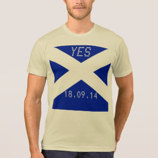 Scottish Independence Referendum 2014 Date T-Shirt