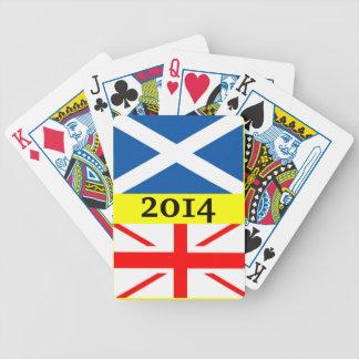 Scottish Independence Referendum Playing Cards