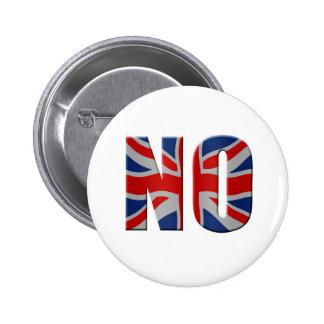 Scottish independence referendum - vote no buttons