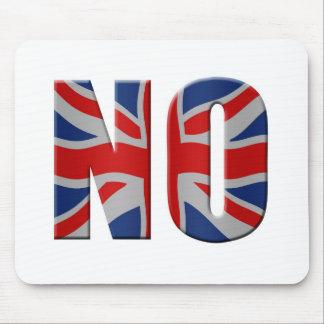Scottish independence referendum - vote no mouse mat