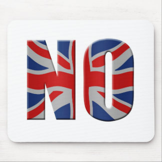 Scottish independence referendum - vote no mouse pad