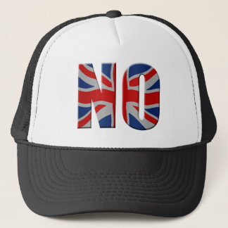 Scottish independence referendum - vote no trucker hat