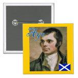 Scottish Independence Robert Burns Aye Badge