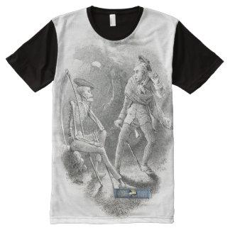 Scottish Independence Robert Burns Book Art All-Over Print T-Shirt