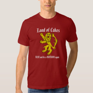 Scottish Independence Sweet Tooth Cakes T-Shirt