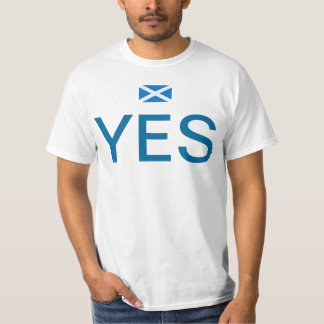 Scottish Independence Vote Yes T-Shirt