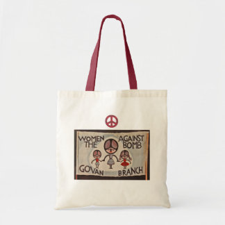 Scottish Independence Women Against the Bomb Tote Bag