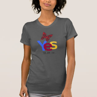 Scottish Independence Yes Date Tee